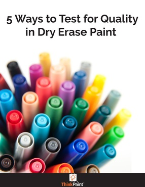 5 Ways to Test for Quality in Dry Erase Paint