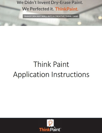 Think Paint Application Instructions